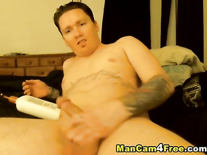 Latina twink is hotly fingering his asshole